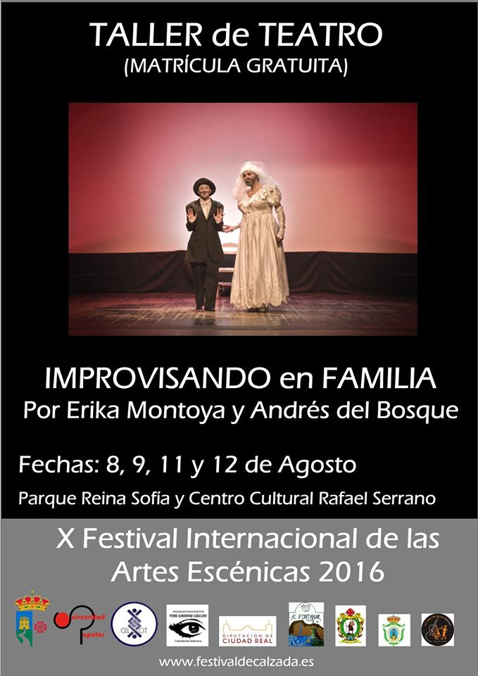 Taller Improvisando de Teatro en Familia
